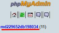 Selecteer Database